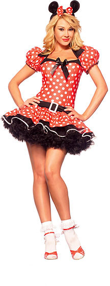 Adult Sexy Miss Mouse Costume