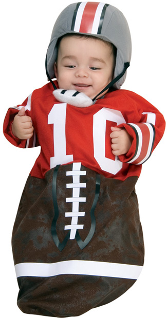 Baby Bunting Football Player Costume