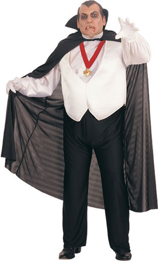 Plus Size Dracula Costume