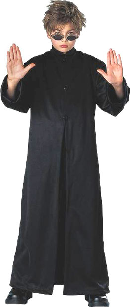 Child's Matrix Cyber Boy Costume