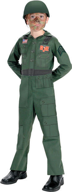 Child's Soldier GI Joe Costume