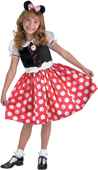 Child's Minnie Mouse Costume