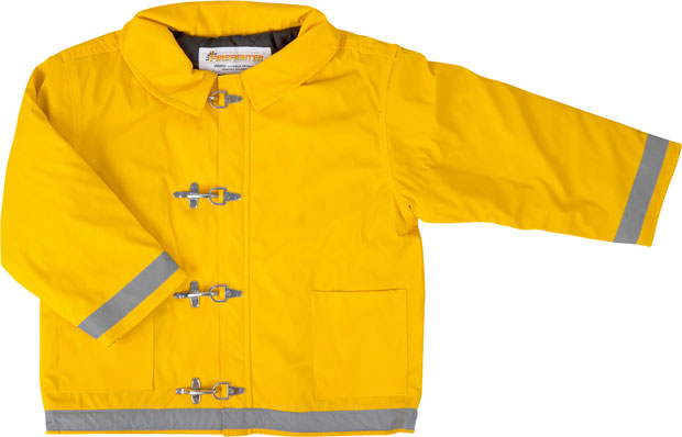 Child's Yellow Firefighter Jacket
