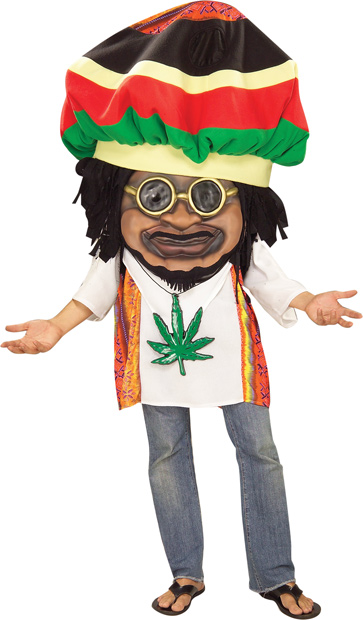 Adult Funny Rasta Guy Costume
