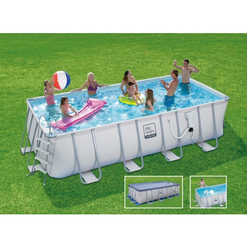 ProSeries Rectangular Frame Pool 9'x18'x52""