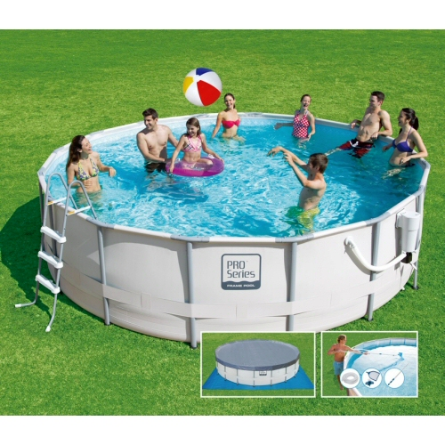 ProSeries Round Frame Pool 16'x48""