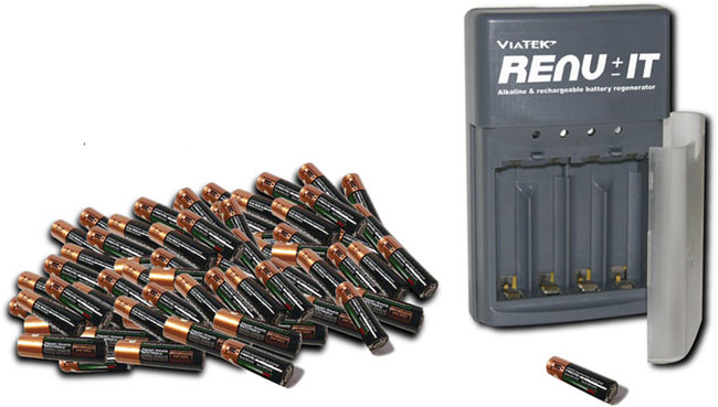 Renu-It Disposable Battery Charger