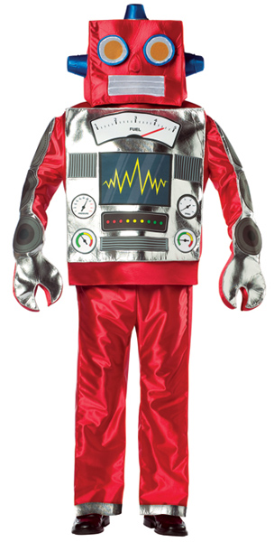 Adult Retro Robot Costume