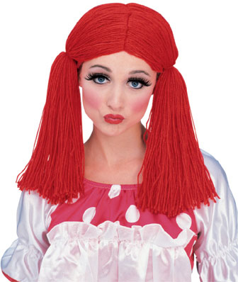 Women's Rag Doll Yarn Wig