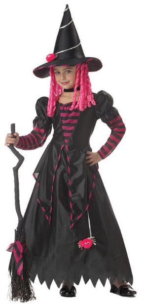 Child's Wiley Witch Costume