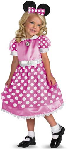 Child's Pink Minnie Mouse Costume
