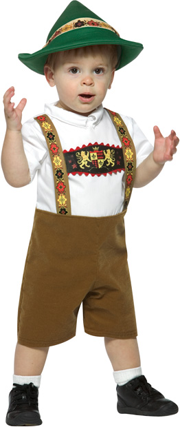 Infant Lederhosen Boy Costume