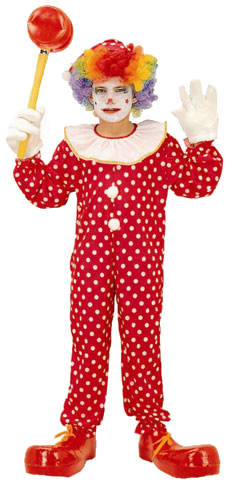 Child's Deluxe Clown Costume