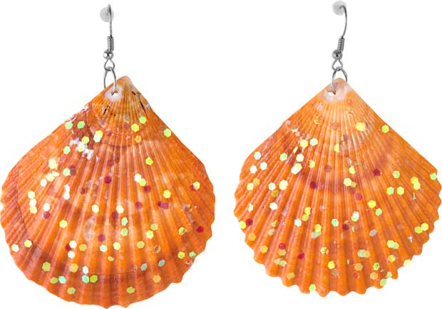 Costume Shell Earrings