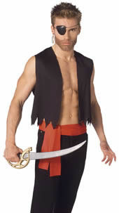 Adult easy pirate costume kit authentic pirate costumes adult easy pirate costume kit solutioingenieria Image collections