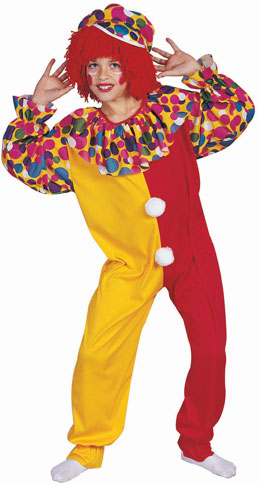 Child's Circus Clown Costume