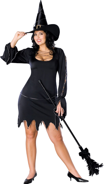 Plus Size Sexy Bewitched Costume