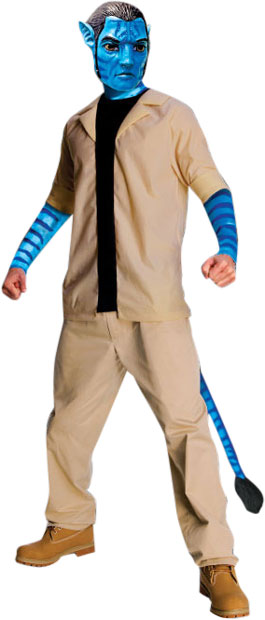 Adult Deluxe Avatar Jake Sully Costume
