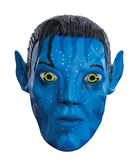 Adult Vinyl Jake Sully 3/4 Mask