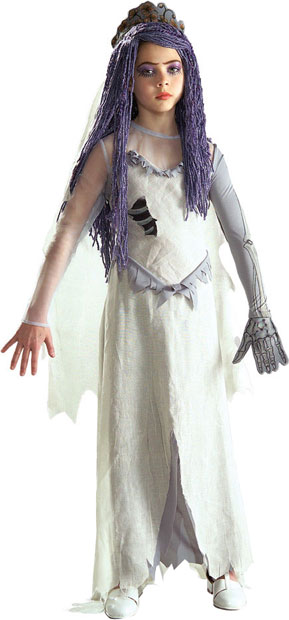 Child's Tim Burton's Corpse Bride Costume