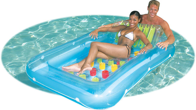 Large Inflatable Floating Pool Lounge