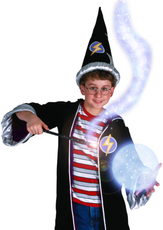 childs wizard costume set