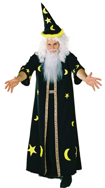 Adult Dark Potion Wizard Costume