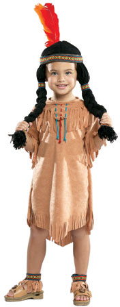 Toddler Indian Girl Costume