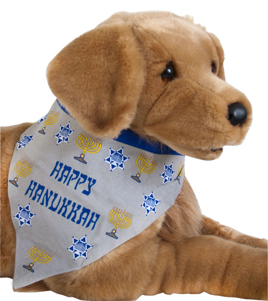 Happy Channuka Doggie Bandanna