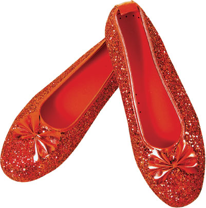 Adult Dorothy Costume Red Slippers