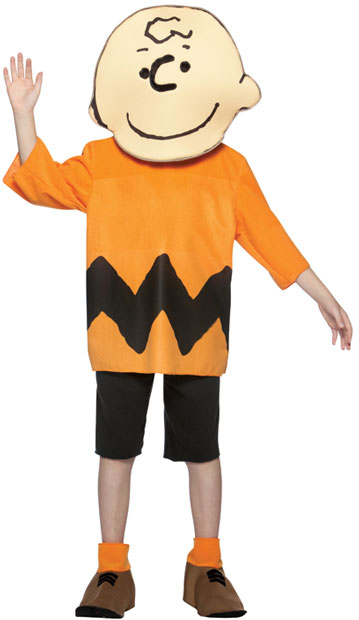 Child's Peanuts Gang Charlie Brown Costume