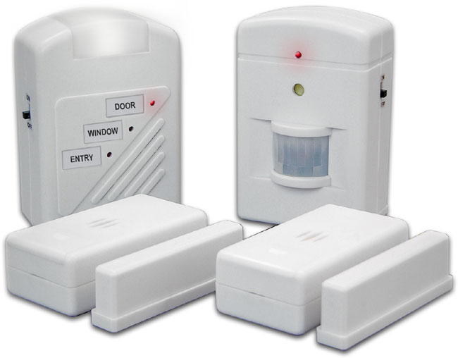 3 Station Home Alarm System