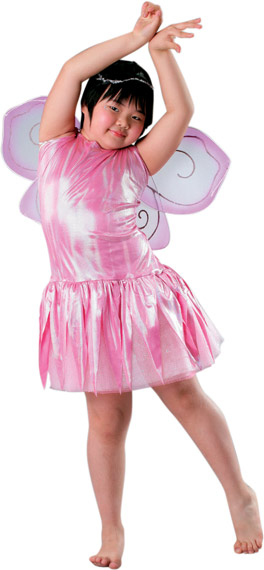 Child's Pink Fairy Costume Wings