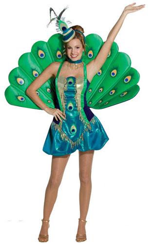 Adult Peacock Costume