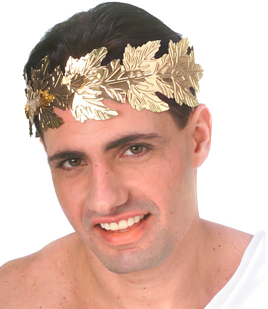 Roman Costume Gold Head Wreath