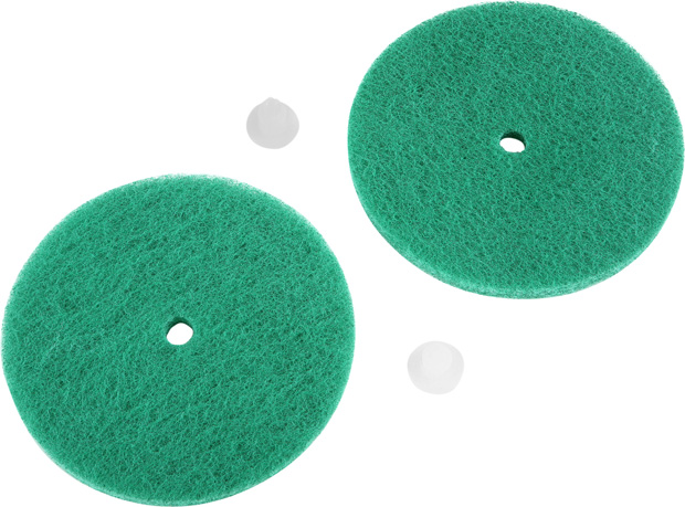 Green Scrub Pads For Electric Floor Cleaner Machine