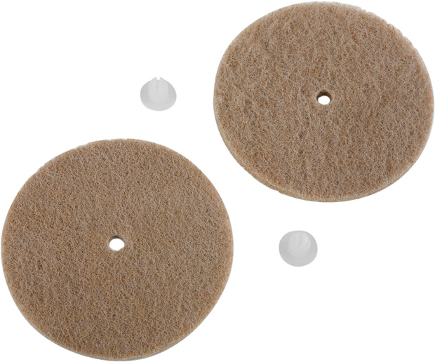 Tan Hardwood Floor Cleaning Replacement Pads