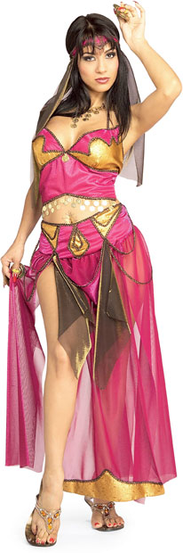 Adult Solome Belly Dancer Costume