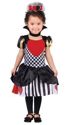 Child's Queen of Hearts Costume