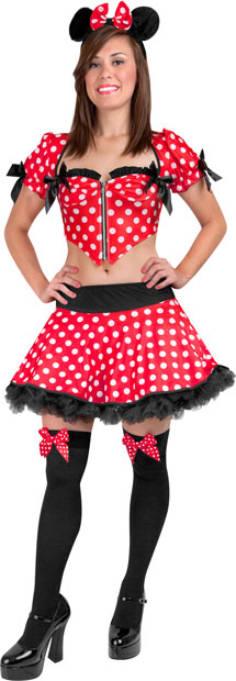 Adult Sexy Minnie Mouse Costume