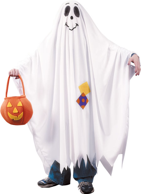 Child's Charlie Brown Ghost Costume