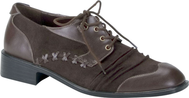 Mad Hatter Shoe in Brown