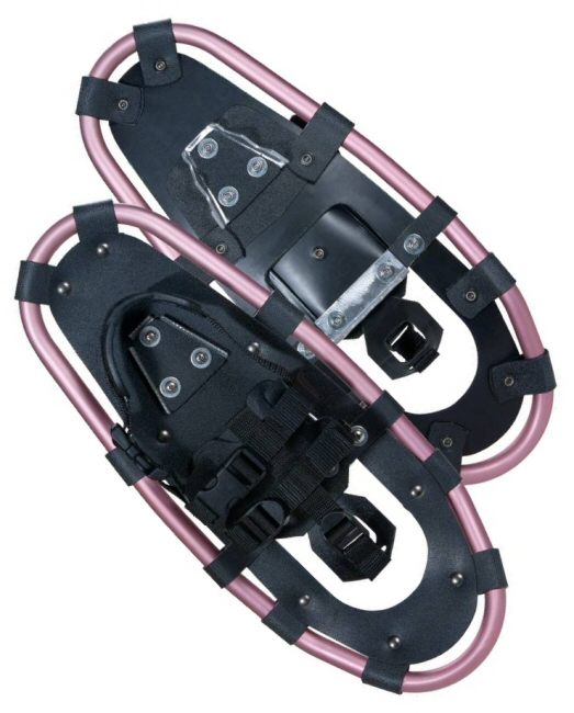 Lucky Bums Youth and Kids Snowshoes Pink