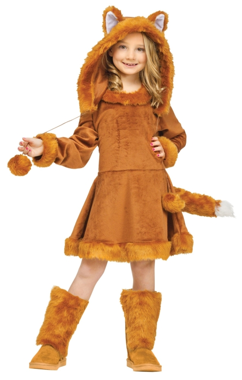 Girl's Sweet Fox Costume