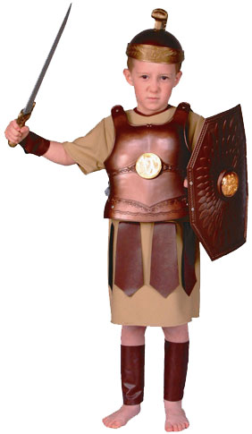 Child's Roman Soldier Costume