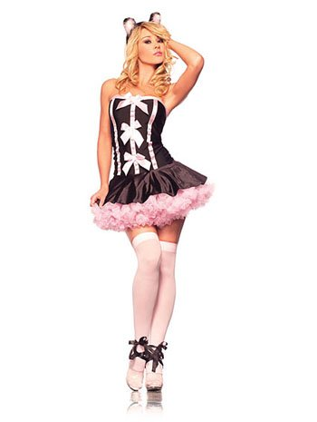Adult Sexy Cat Feline Fantasy Costume