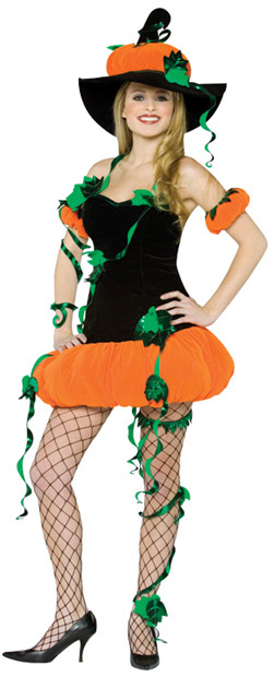 Adult Pumpkin Lady Costume