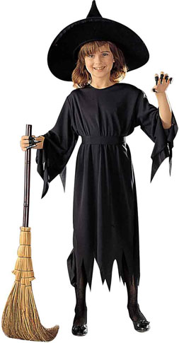 Child's Black Witch Costume