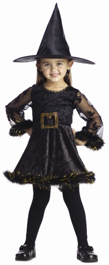 Toddler Adorable Witch Costume