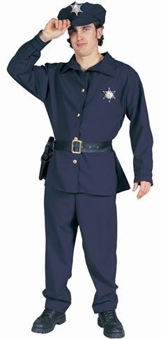 Adult Policeman Costume